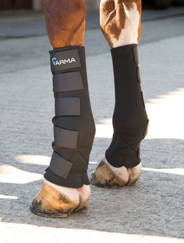 Shires en néoprène boue Fever protection Paddock Chaussettes Poney S/N Full XF Cheval Bottes