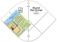 Round The Corner Ruler Template, From June Tailor Inc.