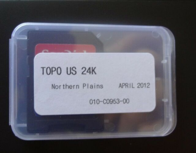 Garmin Topo Us 24k Northern Plains Maps On Micro Sd 010 C0953 00 - Topo-us-24k-maps