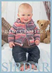 Sirdar-Baby-Crofter-7-Book-18-patterns-0-7yr-using-Snuggly-Baby-Crofter