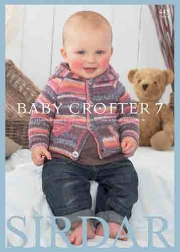 e0884391783a Sirdar Baby Crofter 7 Knitting Pattern Book 445