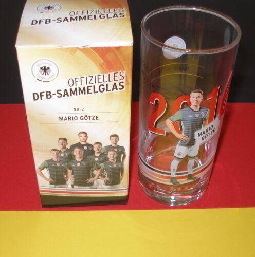 "/""DFB Sammelgläser/"" Rewe EM 2016 Frankreich Auswahl Sammelgläser Glas // Gläser"