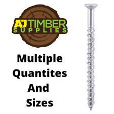TIMCO 80200VYTX Velocity Torx Multi-use Screw 8mm x 200mm Wood Masonry 50pc