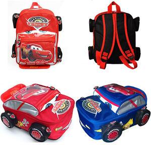 Image Is Loading Baby Kid Toddler Cartoon Lightning Mcqueen Backpack Shoulder