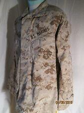 USMC US Marine Corps MARPAT Digital Desert Camo Shirt MEDIUM-EXTRA-LONG