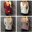 Criss Cross Caged Lace Up Brushed Hacci Plush Soft Long Sleeve Sweater Top