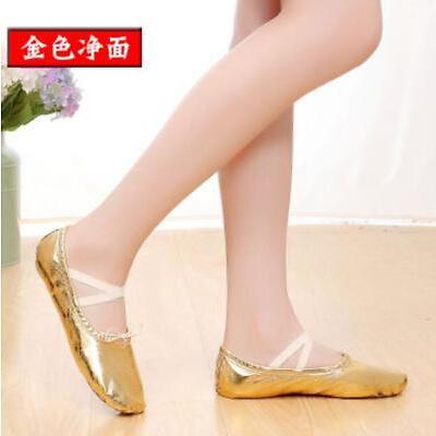 Adult Children Dancing Ballerina Belly Dancewear Folk National Flat Heel Shoes f