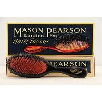 Mason Pearson Bn3 Handy Bristle&nylon Hairbrush – Dark Ruby