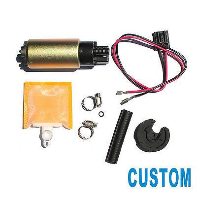 Custom 1pc New Electric Fuel Pump /& Install Kit Fit Multiple Models E8213 E2471
