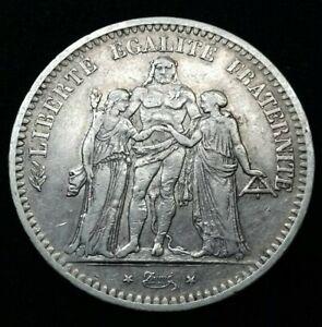 France-5-Francs-Hercules-1848-K-Bordeaux-QUALITE