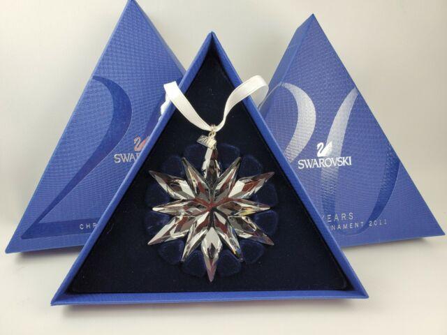 SWAROVSKI 2011 Christmas Star Large Snowflake Xmas ...