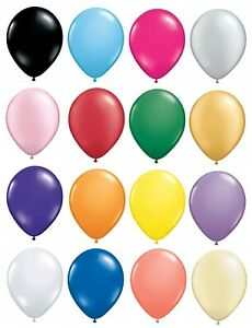 50-x-12-5cm-5-034-Latex-Balloons-Party-Decorations-Small-Round-Best-Quality