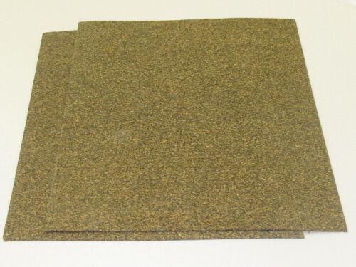 Nitrile Collé Cork Plaque 3mm D/'Épaisseur 200mm X 100mm