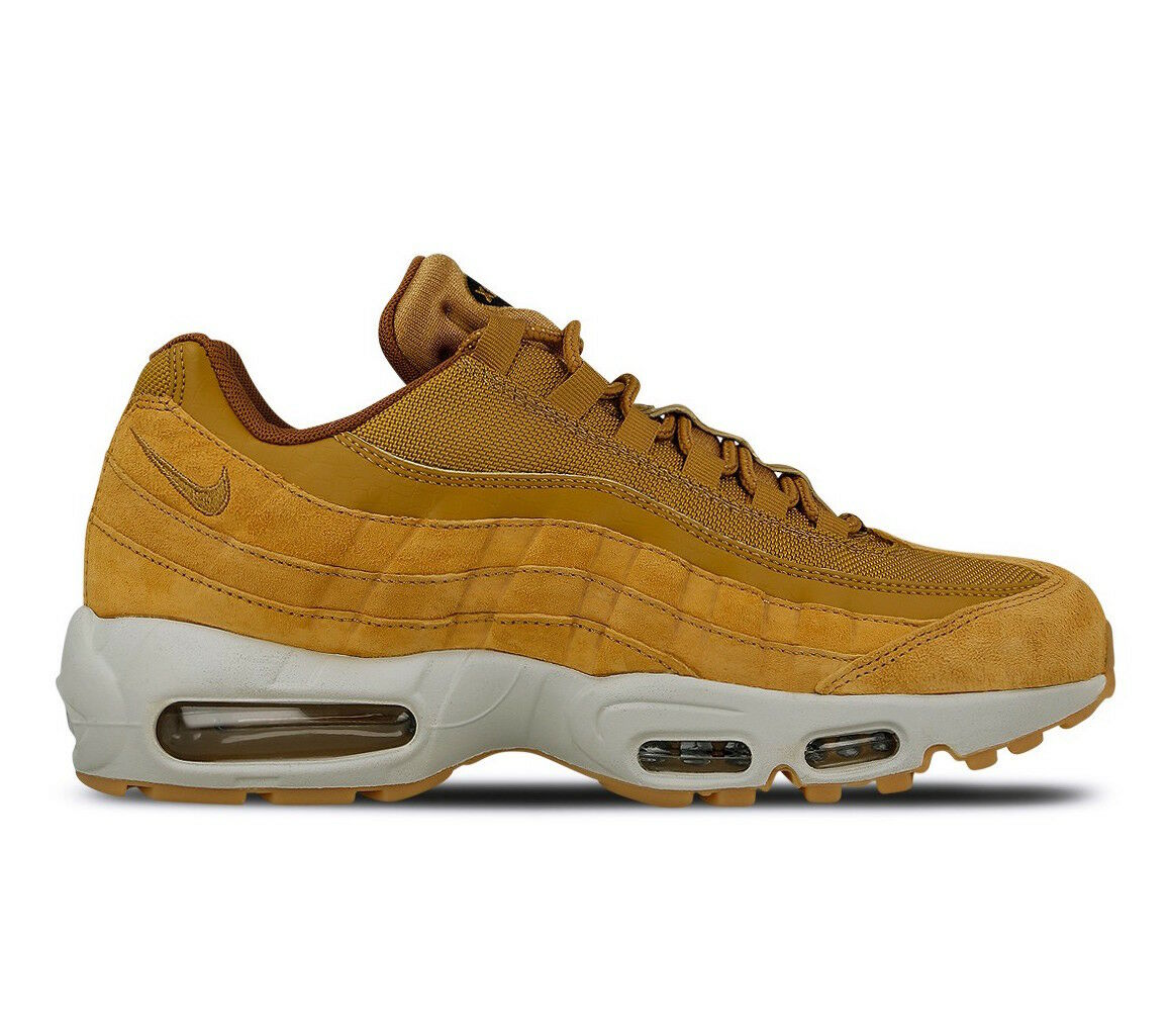 Men's Nike Air Max 95 SE  Wheat  Athletic Fashion Casual Sneakers AJ2018 700