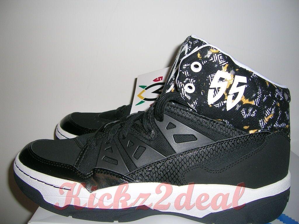 Nuove Nuove Nuove adidas originali mutombo scarpe da basket uomini sz 9,5 - 11 c75208 nero (55 e22da0