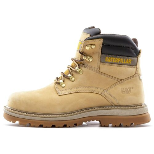 CAT Caterpillar Fairbanks Safety Boots S3 Industrial Steel Toe Mens Work Shoes