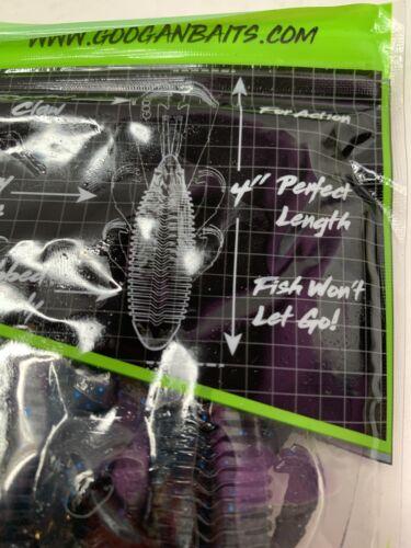 Black Blue Flake Googan Baits Bandito Bug