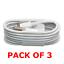 USB-Cargador-y-Datos-Sincronizacion-Cable-LIGHTNING-para-Apple-iPhone-7-6-5-iPad-4-X-Aire-1M miniatura 2