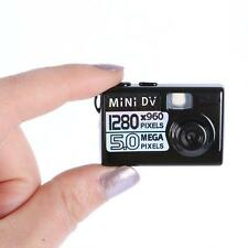 Protable Small Mini Digital Camera Black Mini DV DVR Video/Sound Camera Webcam