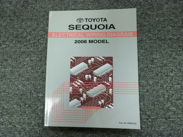 2008 Toyota Sequoia Electrical Wiring Diagram Manual Sr5