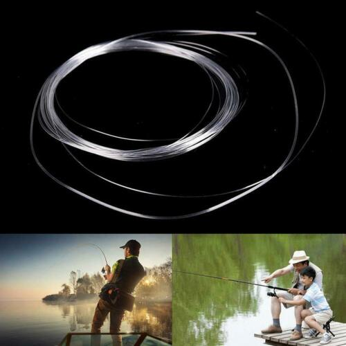 1pc Fly Fishing Fluorocarbon Tapered Leader 9FT 0//1//2//3//4//5//6//7X Leader Line New