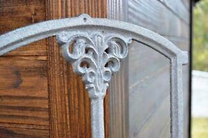 Eisenfenster alte Gartenmauer Sprossenfenster Stallfenster Gretje klappbar KK105