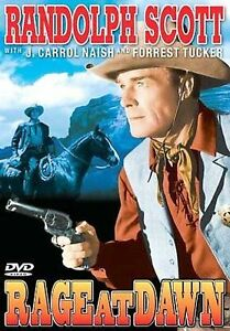 RAGE AT DAWN (1955)/Randolph Scott, F. Tucker/NEW DVD/BUY ANY 4 ITEMS SHIP FREE