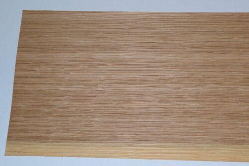 Oak Wood Veneer Sheets 6.5 x 31 inches 1//42nd thick                     F8633-43