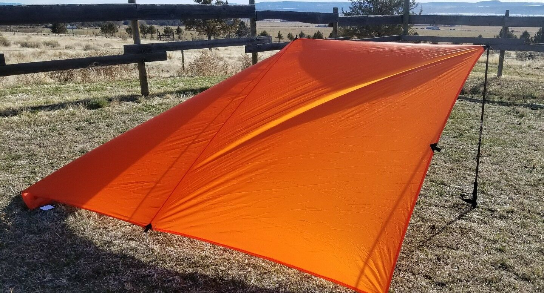 UL HIKER Ultra Lite 6 X 9 9 9 Shelter Blaze arancia Limited Edition 202956