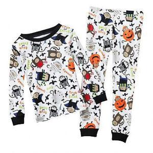d1beac8f1 NWT ☀HALLOWEEN☀ CARTERS Boys Pajamas New CUTE! 12m