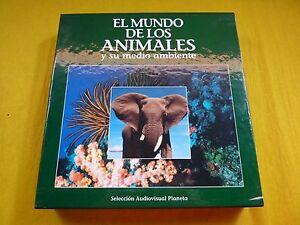 el mundo de los animales Jacques Cousteau (Nearn MINT) 11x LASER DISC  ç