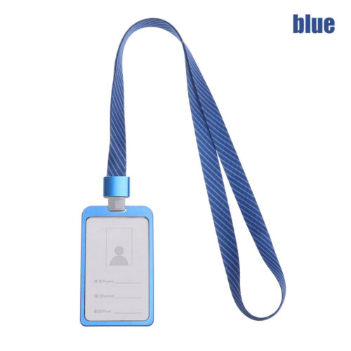 With Lanyard Work Card Holders ID Badge Holder Name Card ID Business Case