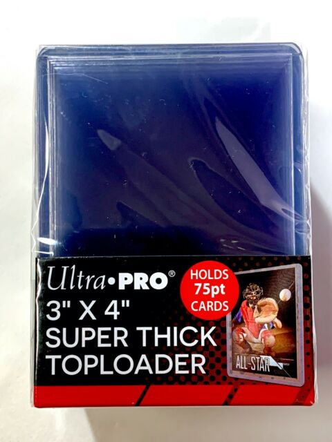 Ultra Pro One Touch Magnetic Super Extra Thick Card Holder8 PACK Sports Trading Cards Collecting Supplies Fits up to 130 Pt Card