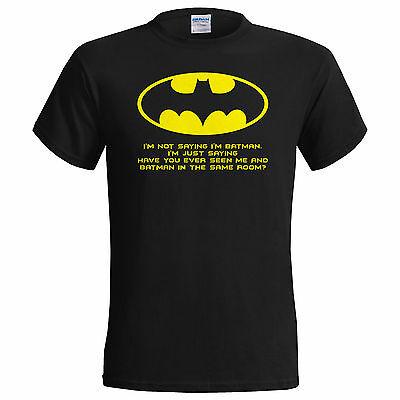 i'm batman t shirt