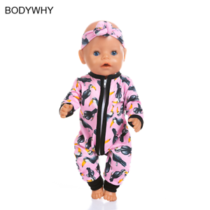 New Jumpsuits Fit For 43cm Baby Doll 17inch Born Doll Clothes Ebay