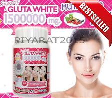 Best Seller White Gluta Supreme 1500000Mg  Whitening Anti Aging 30 Softgel.