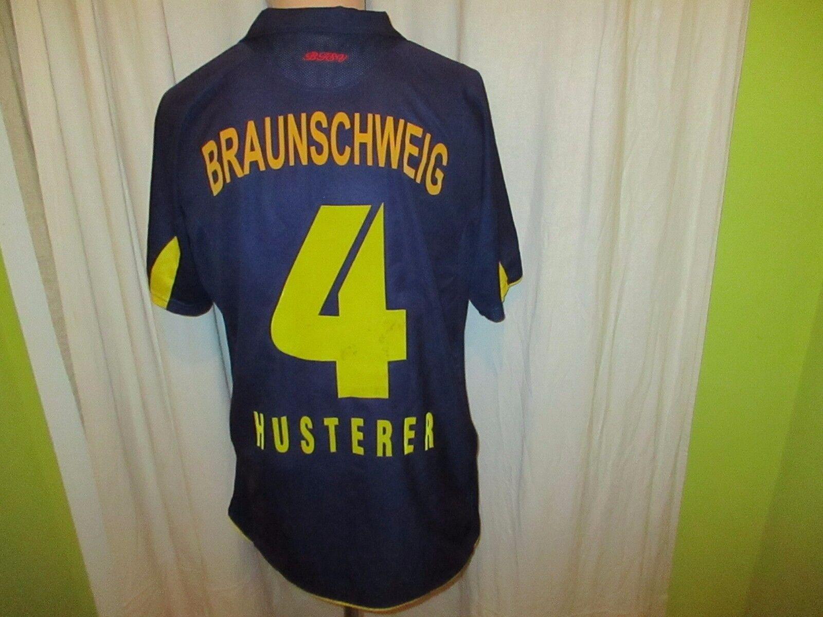 Eintracht Braunschweig Jako Trikot 2006 07  BS Energy  + Nr.4 Husterer Gr.M L