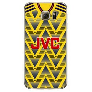 new arrival 24a3d 7d136 Details about Arsenal Style Retro Kit Jersey Shirt For Samsung S7 S8 S9  Note Phone Cover Case