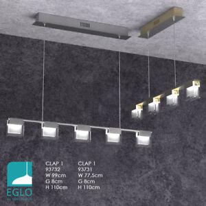 Eglo 93731 4 Light Led Matt Nickel Led Pendant Light Clap 1 Touch