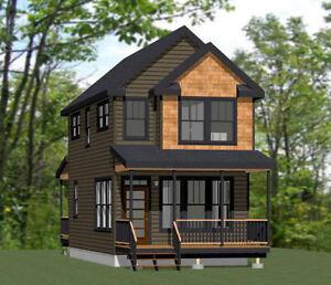 16x30 Haus -- 901 SQ FT -- PDF Grundriss -- Modell 11