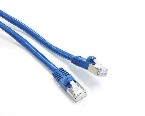 25ft Shielded CAT6A Network STP Ethernet Patch Cable