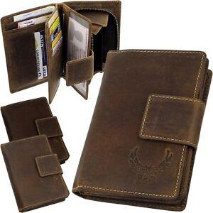L-amp-B-Damen-Geldboerse-Brieftasche-Echt-Leder-Geldtasche-Portemonnaie-Geldbeutel