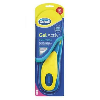 SCHOLL coppia solette GEL ACTIVE EVERYDAY Donna sottopiede