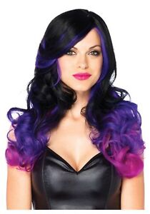 Purple Wig and Faded Purple and Black UXdwxqd4