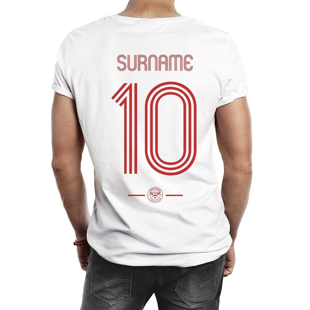 Brentford F.C - Personalised Mens T-Shirt (RETRO SHIRT)