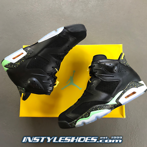 3841bd5b95dd Nike Air Jordan 6 VI Retro Sz 10 DS Brazil World Cup Infrared 688446 ...