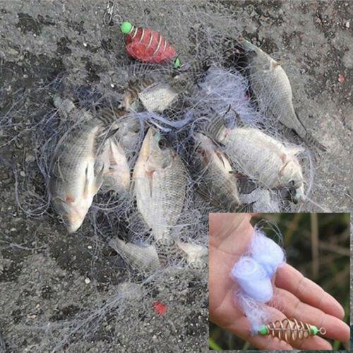 Fishing Net Trap Copper Spring Shoal Fishing Trap Net Netting Fishing Tackle UK
