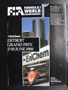Program-Detroit-Grand-Prix-F1-1988-17-19-June-Detroit-USA-PBE