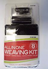 Black Thread, 3 Needles, 2 Wig Clips, and Two Weaving Nets for Hair Extensions