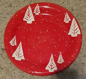 Certified-International-Christmas-Red-w-White-Trees-11-1-4-034-Dinner-Plates-4